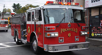 Pocatello Fire Truck